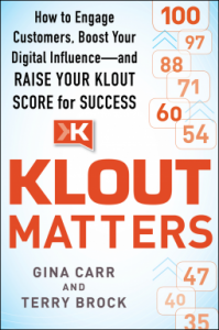 Klout Matters book cover