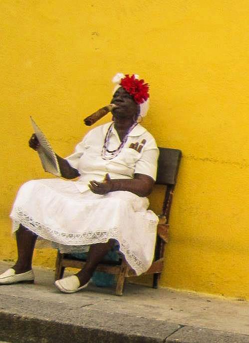 Cigar lady, Havana, Cuba
