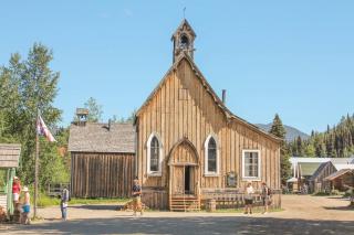 St. Savior's Church, Barkerville, BC