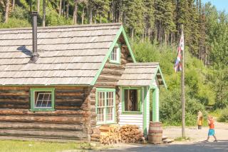 School house, Barkerville, BC