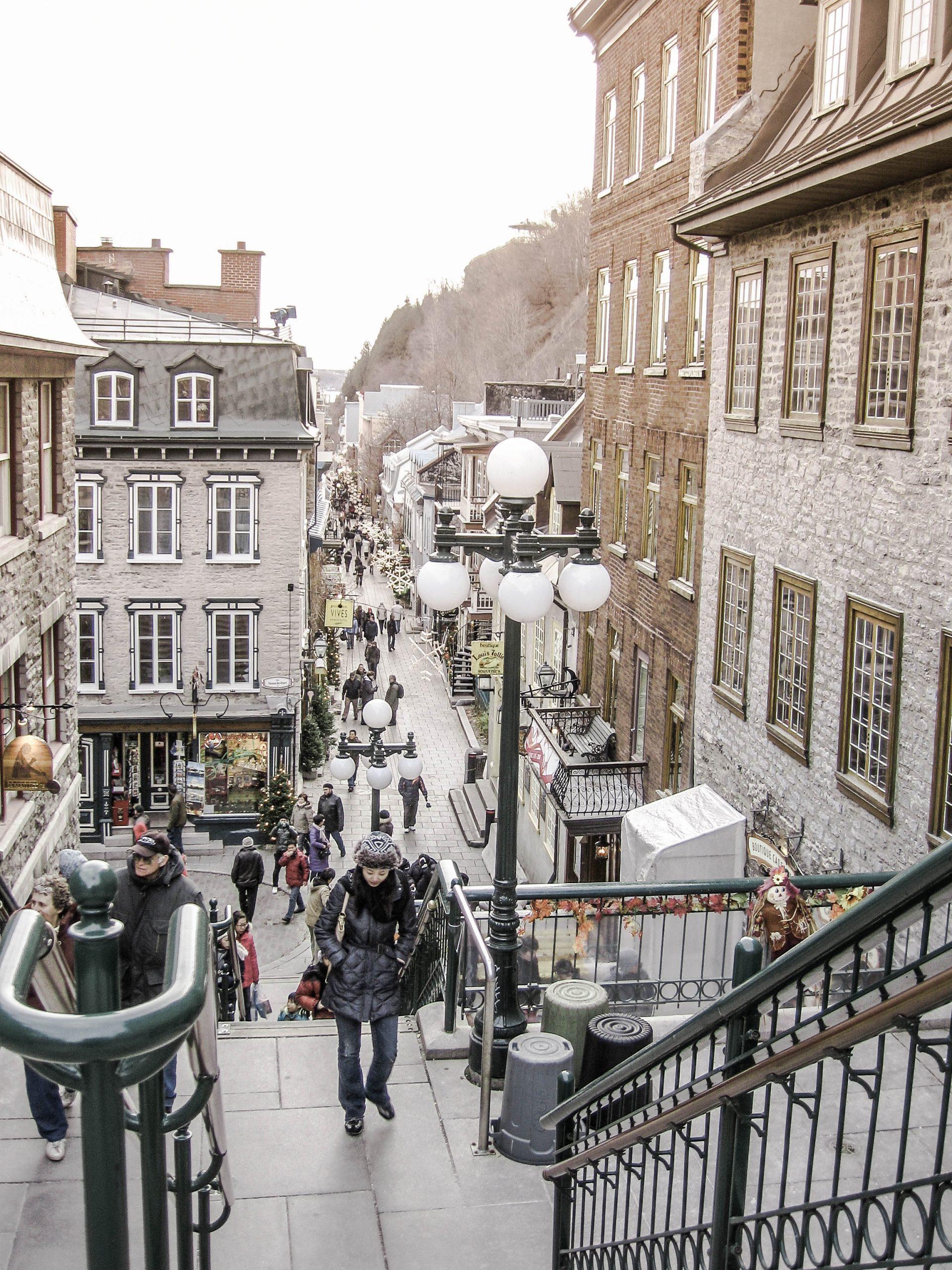 funicular Quebec City