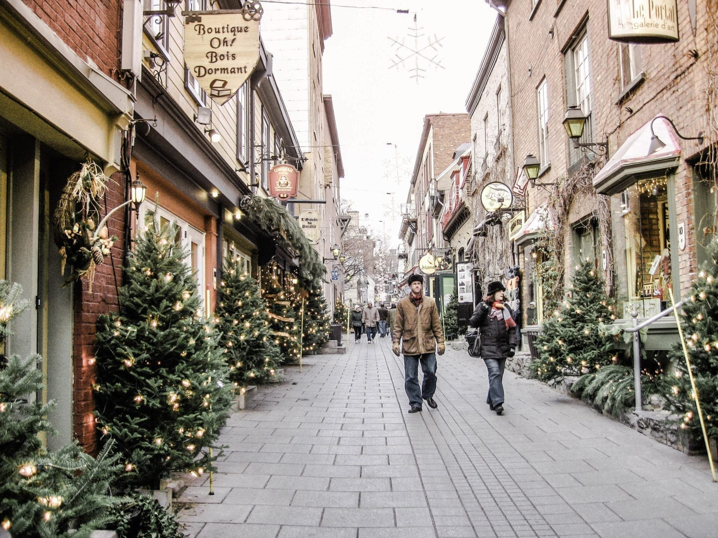 Old Québec City – A Quaint Historic Town Decorated for Christmas