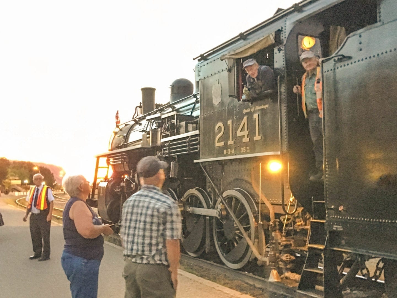 Kamloops Heritage Railway steam engine 2141