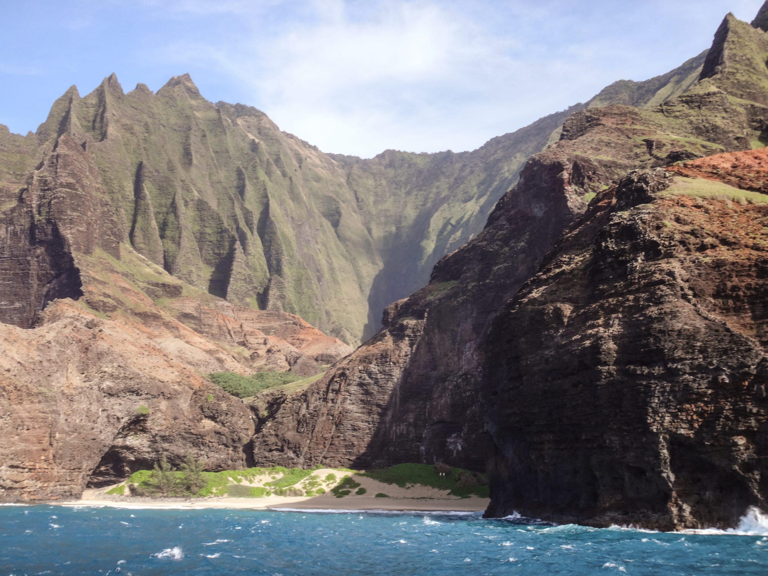 Capt Andy's Catamaran Dinner Cruise, Kauai, Hawaii Na Pali Coast