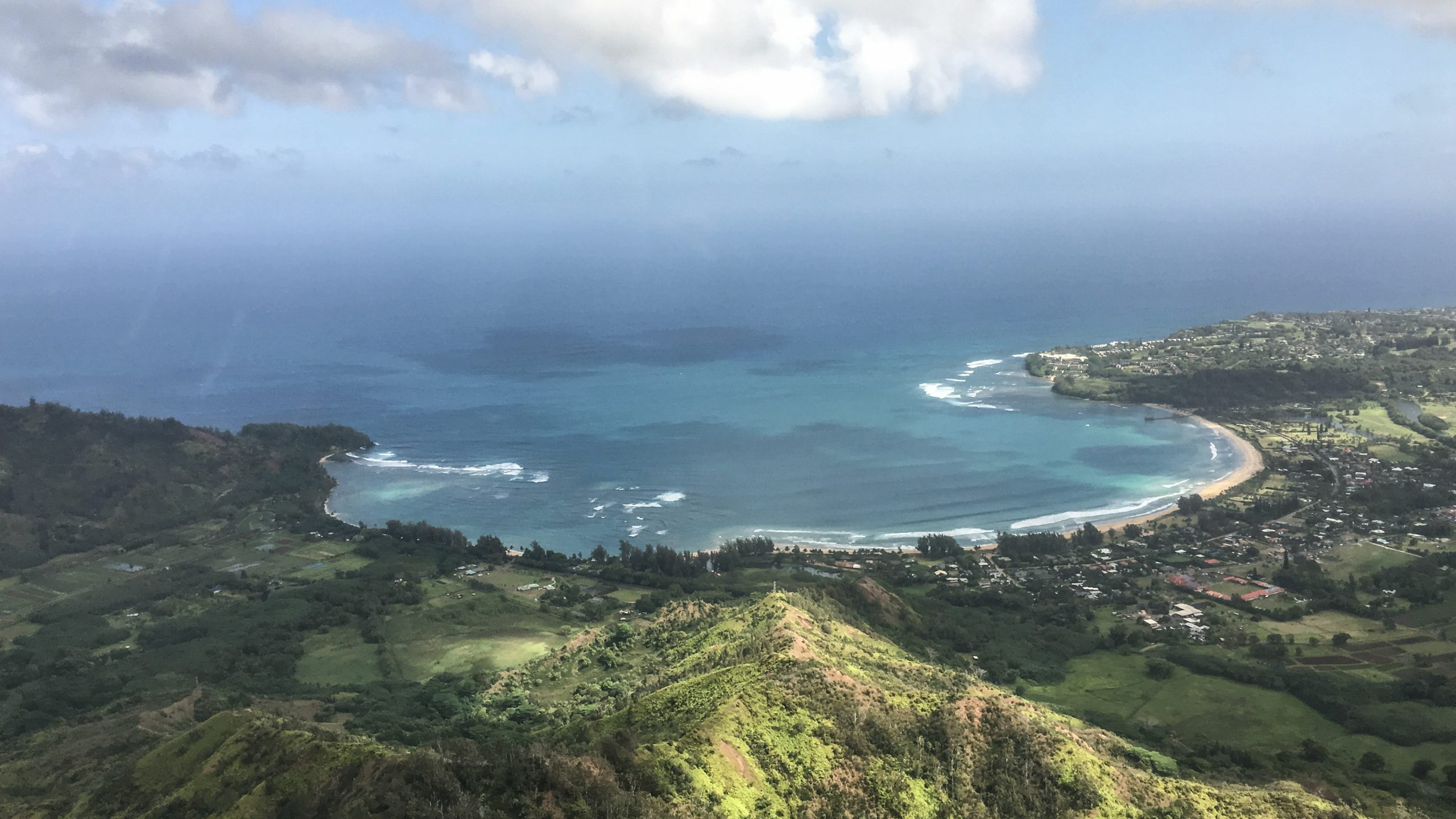 View from Blue Hawaiian helicopter tour