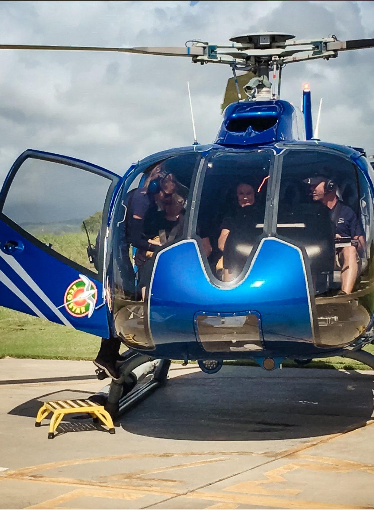 Blue Hawaiian helicopter tour, Kauai Hawaii