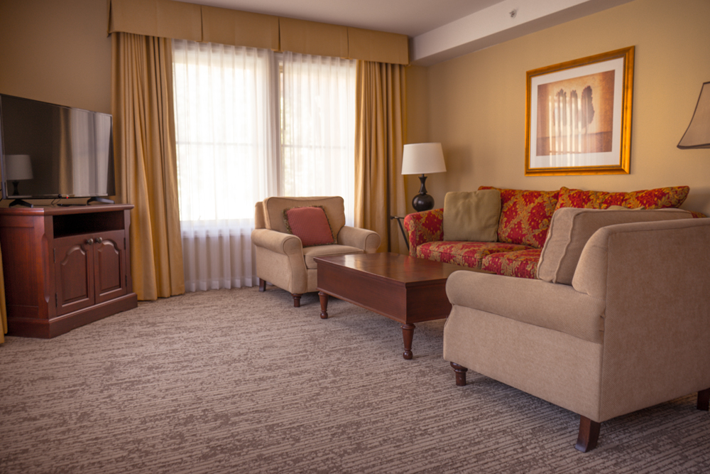 The Residence at Sun Peaks Grand Living Room