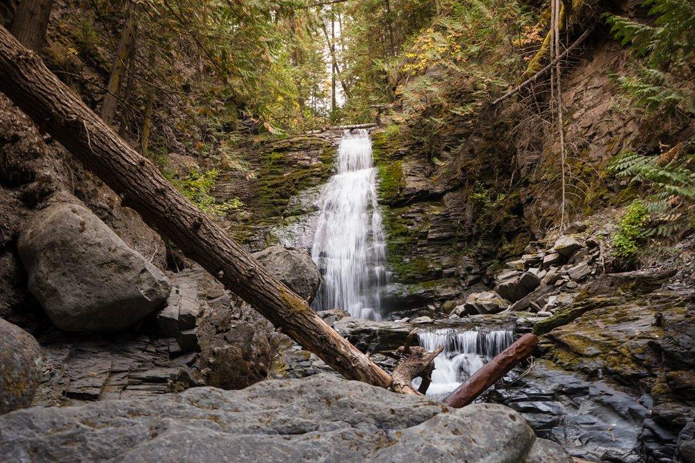 Whitecroft Waterfall Sun Peaks BC Kamloops