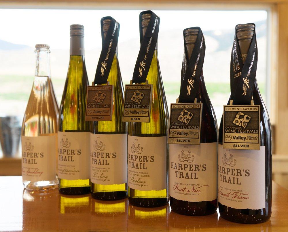 Harper's Trail Winery Kamloops BC Kamloops Wine Trail