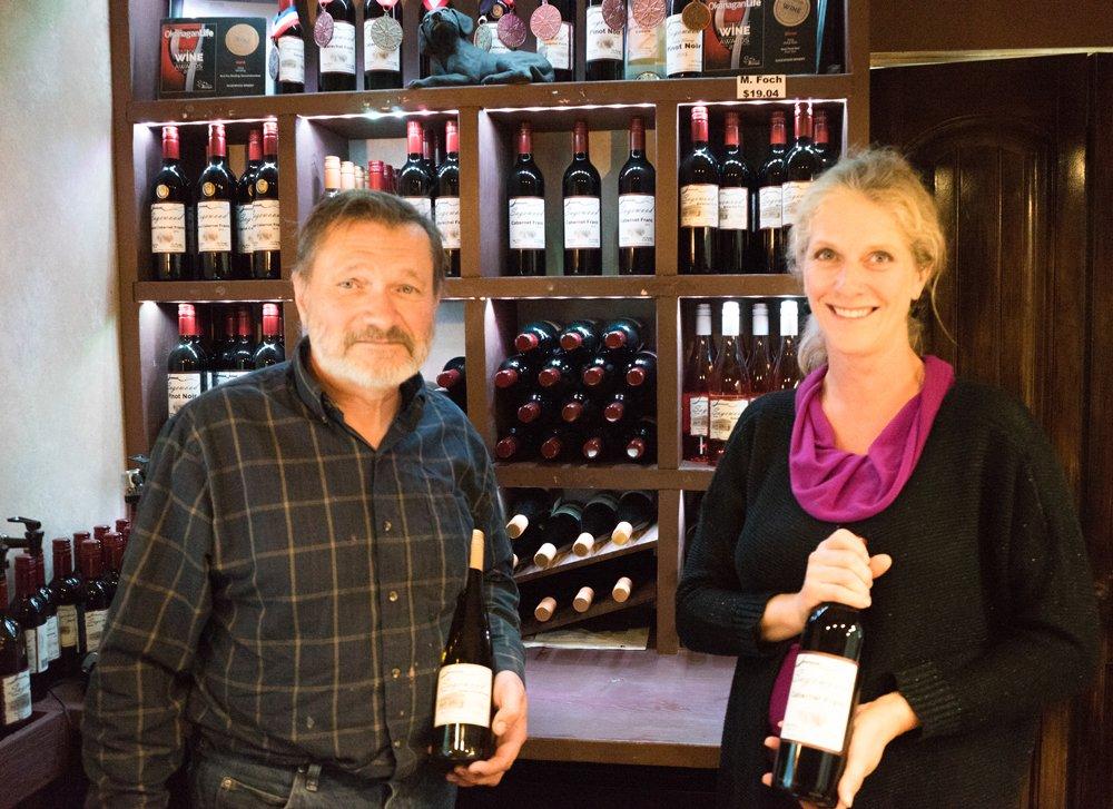 Sagewood Winery Kamloops BC