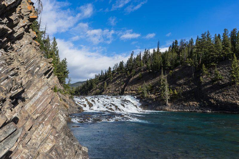 Bow Falls Banff National Park Alberta