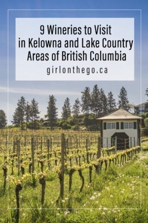 Kelowna wineries