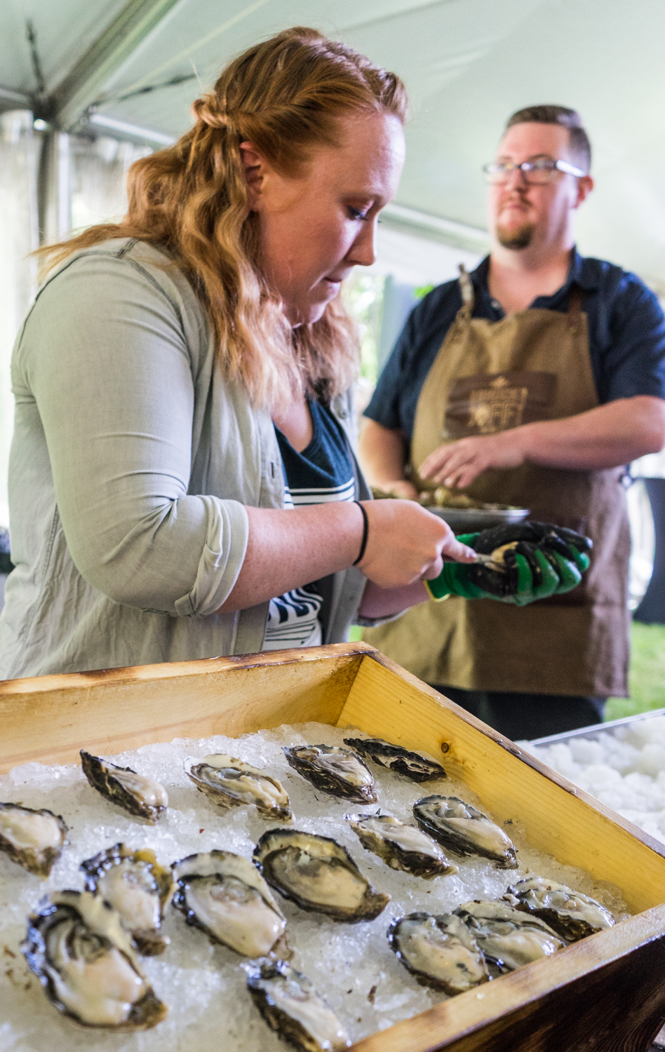 Fanny Bay Oysters - BC Seafood Festival, Courtenay Comox BC