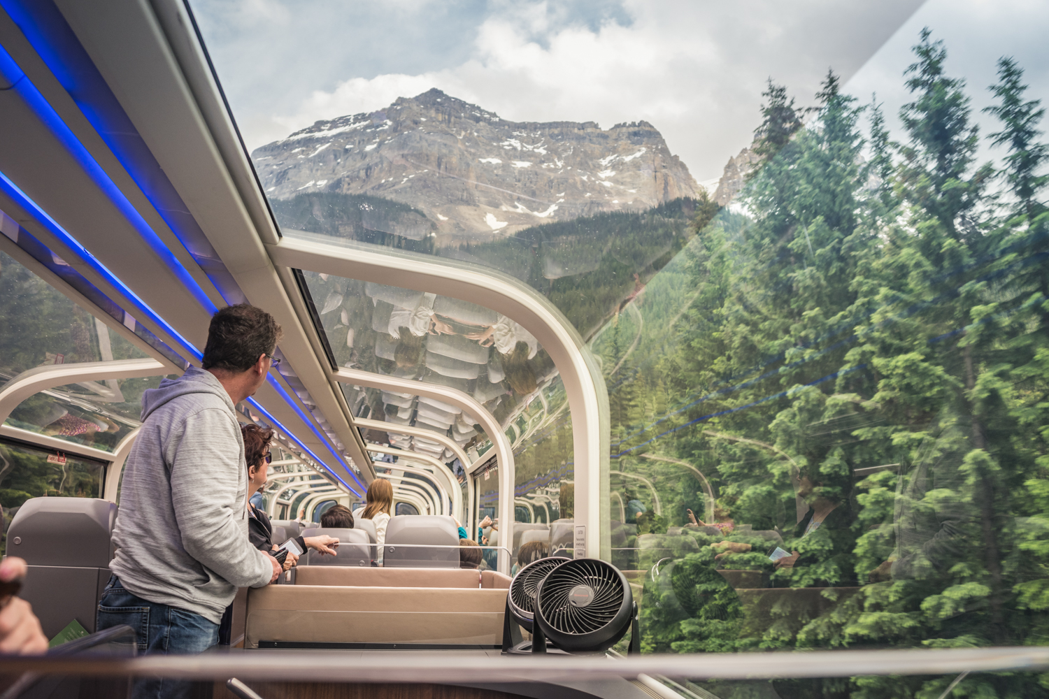 See the Canadian Rockies by Luxury Rail - Rocky Mountaineer