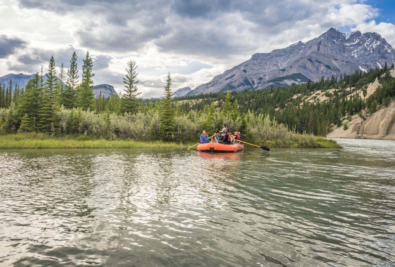 Bow River rafting, Banff, Alberta