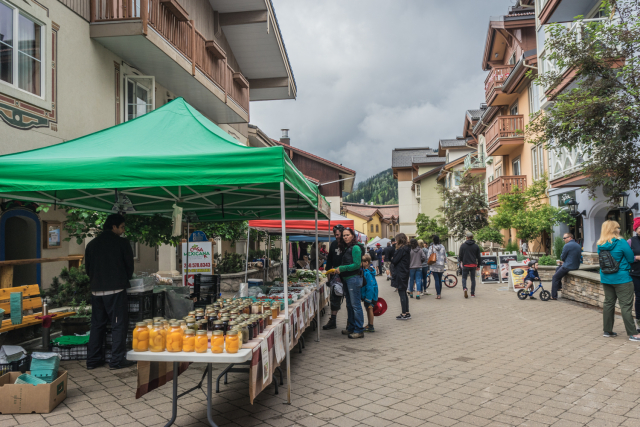 Sun Peaks Market Day
