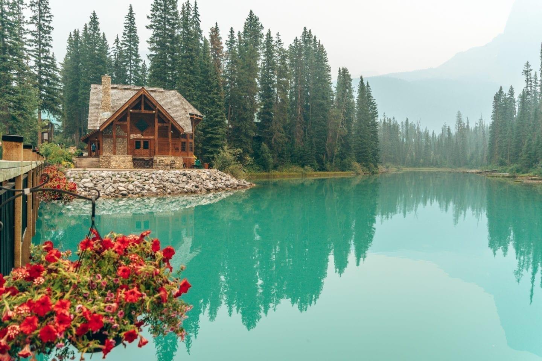Emerald Lake, Field BC Yoho National Park