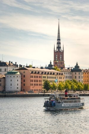 Stockholm, Sweden, Viking Homelands Cruise on the Baltic Sea, Viking Star