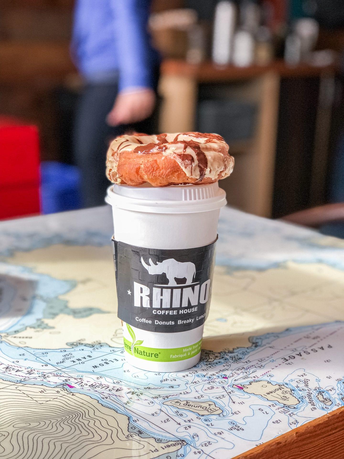 Rhino Coffee, Tofino, BC Vancouver Island Canada