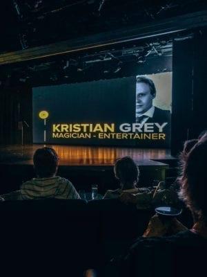 Kristian Grey magician, Viking Homelands Cruise on the Baltic Sea, Viking Star