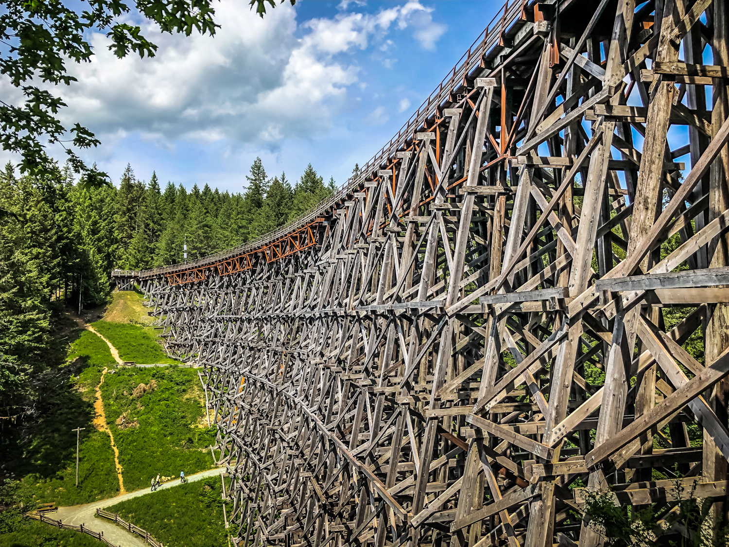 Kinsol Trestle, Vancouver Island
