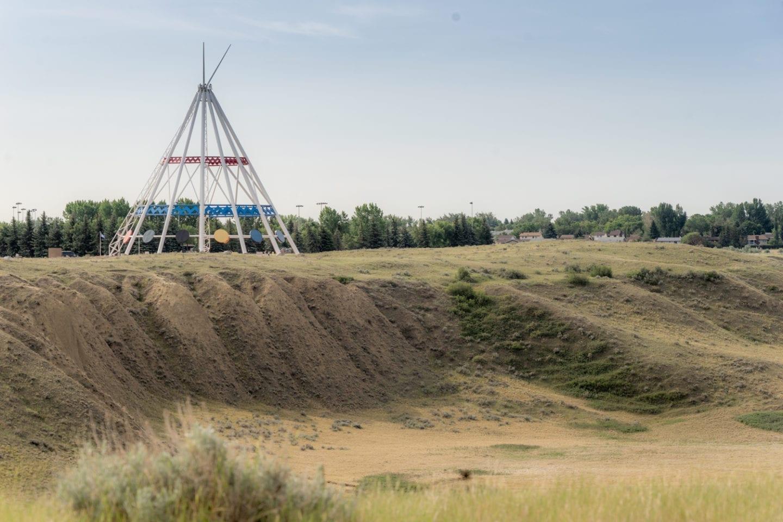 Saamis Teepee, Medicine Hat, Alberta