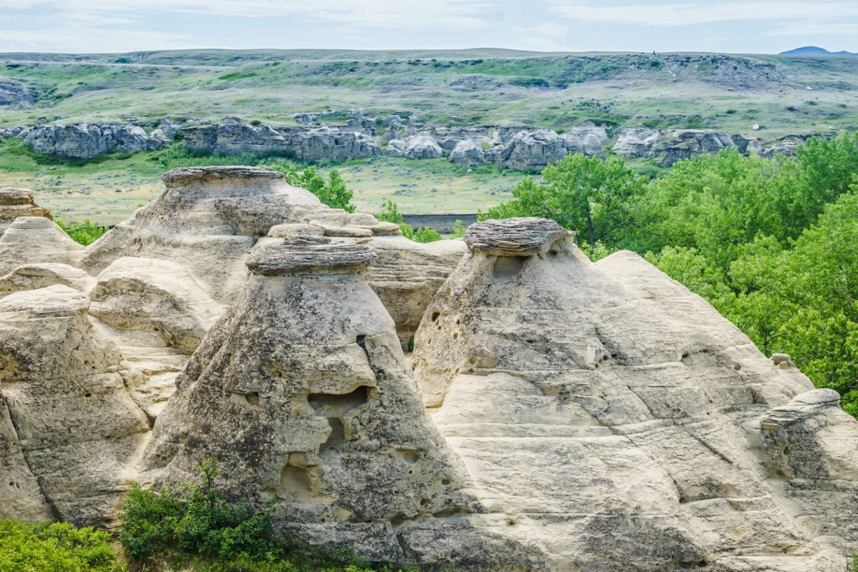 Writing on Stone National Park, Alberta