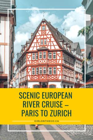 Viking River Cruise - Paris to Zurich