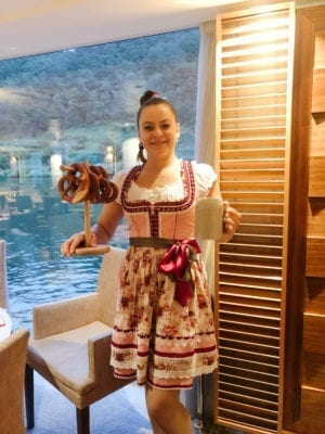 Simona, Viking Hild crew, Viking River Cruise, Paris to Zurich