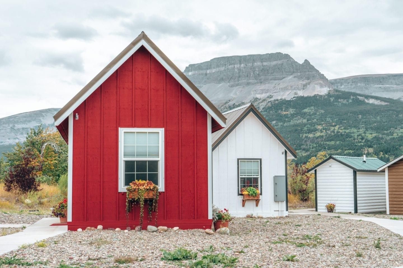 St. Mary Village, Glacier National Park, Montana