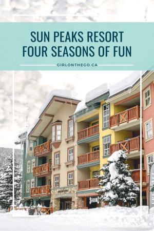 Sun Peaks Resort - Four Seasons of Fun