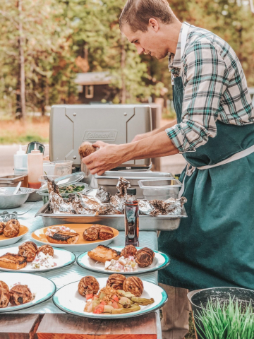 Glamping in West Glacier National Park, Montana