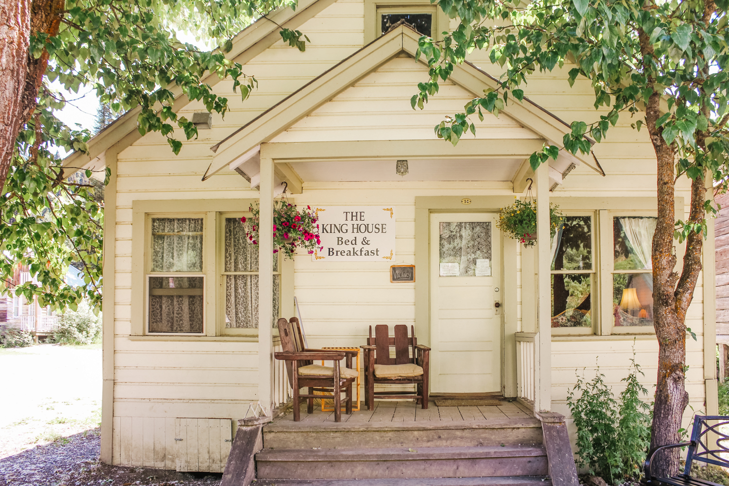 King House Bed and Breakfast, Barkerville, BC