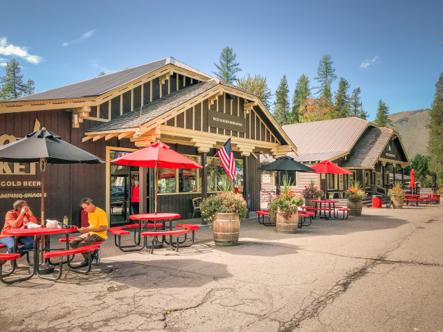 West Glacier Village, Montana