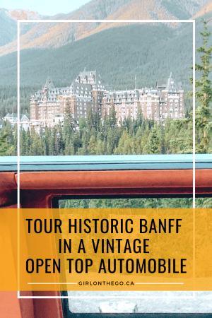 Open Top Touring Banff
