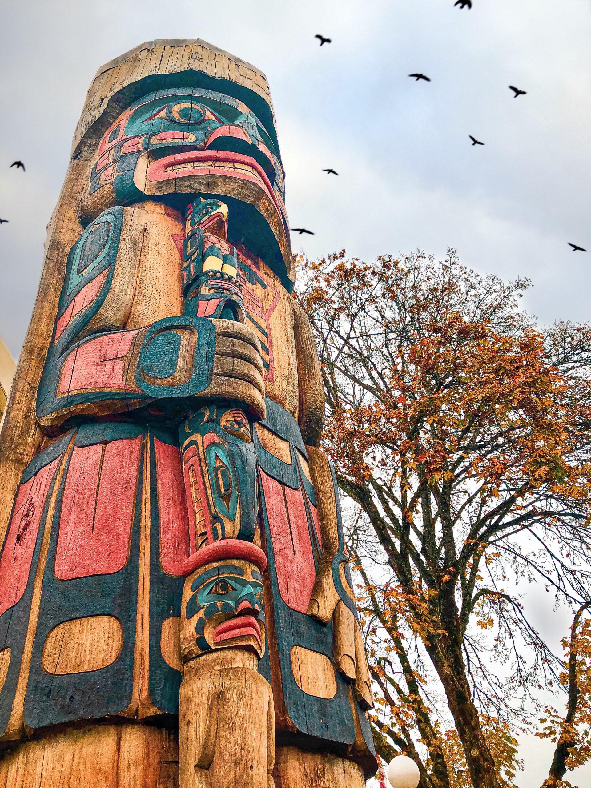 Pin on Pinterest - Totem Poles of British Columbia Canada, Duncan, BC