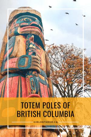 Pin on Pinterest - Totem Poles of British Columbia