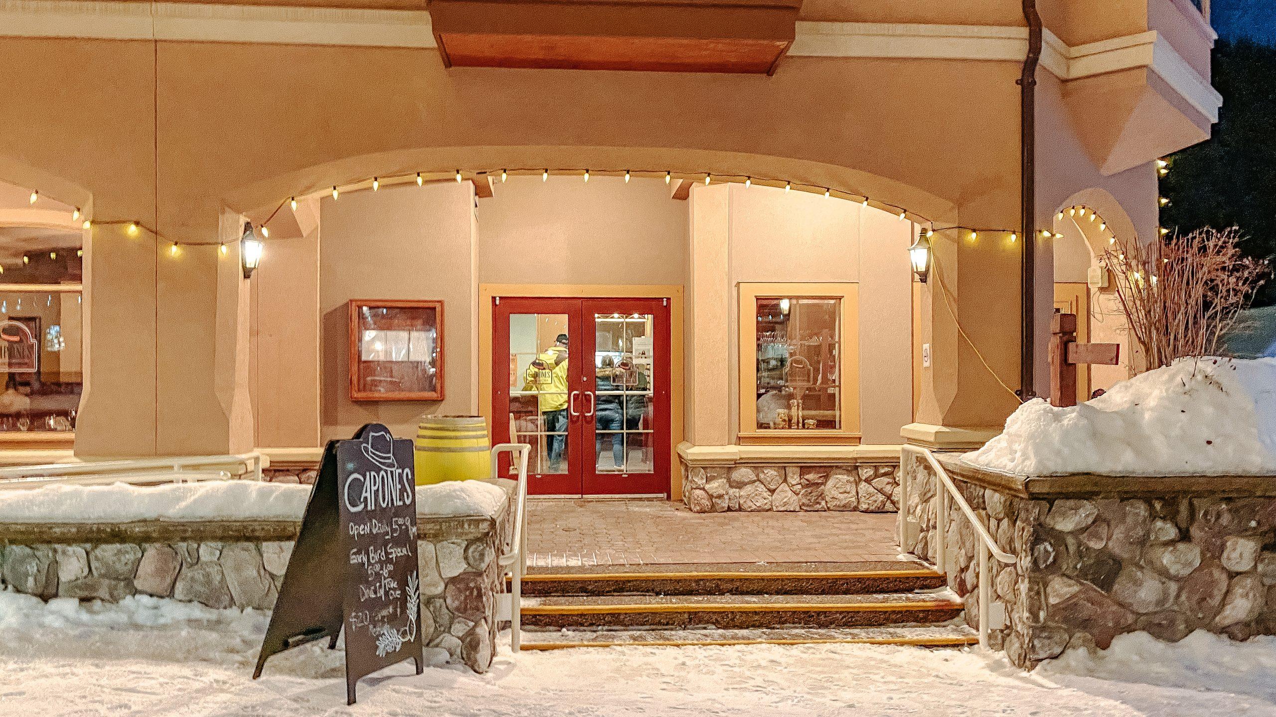 Capone's Italian Kitchen, Sun Peaks Resort