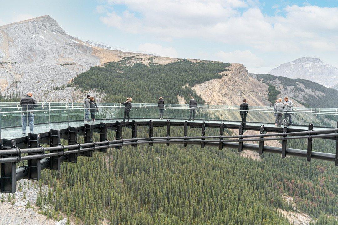 Glacier Skywalk, Glacier View Lodge, Athabasca Glacier, Columbia Icefields, Jasper National Park