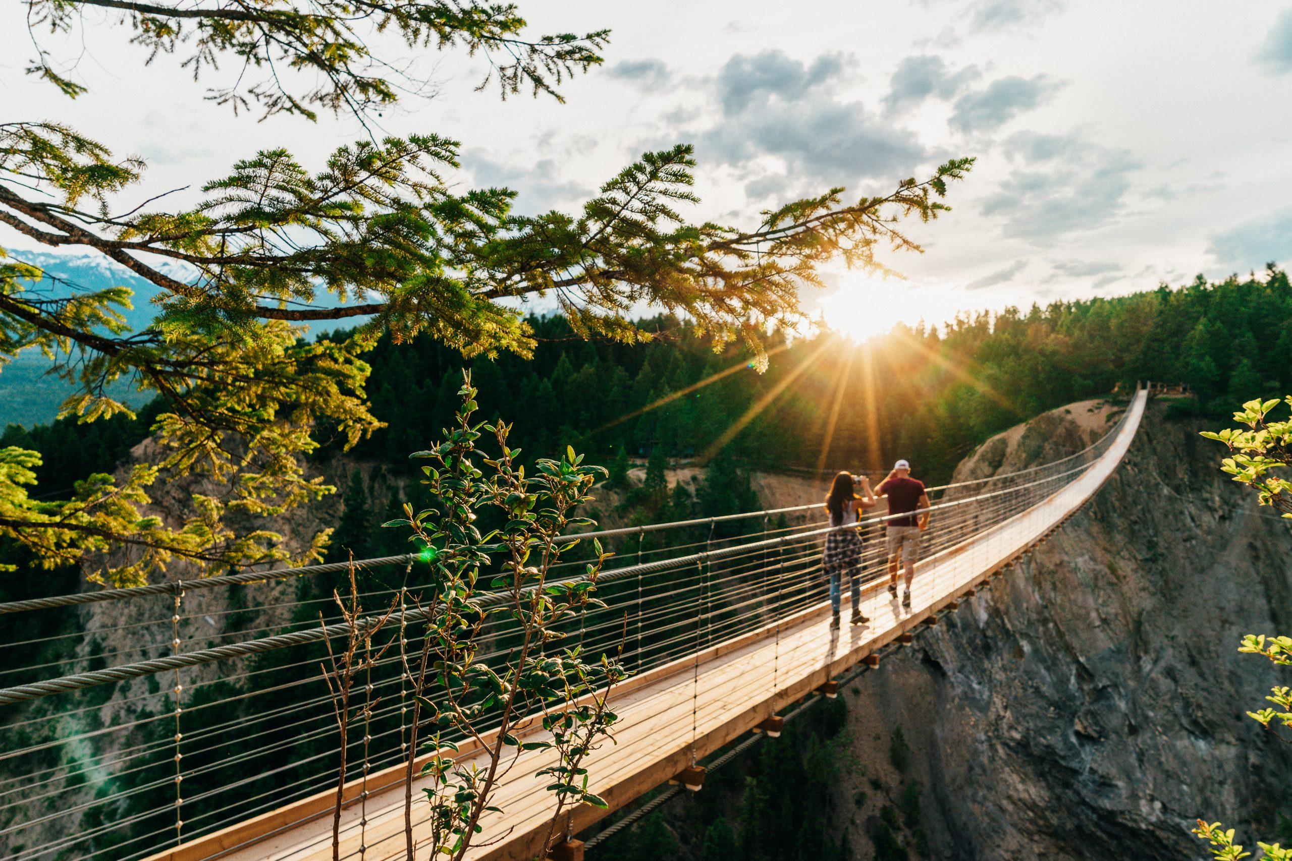 Golden Skybridge, Pursuit Collection, BC Canada