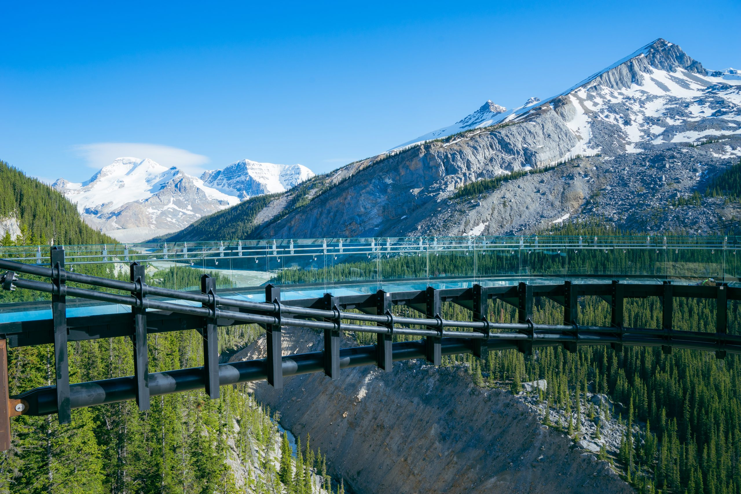 Glacier Skywalk, Columbia Icefield, Athabasca Glacier, Alberta