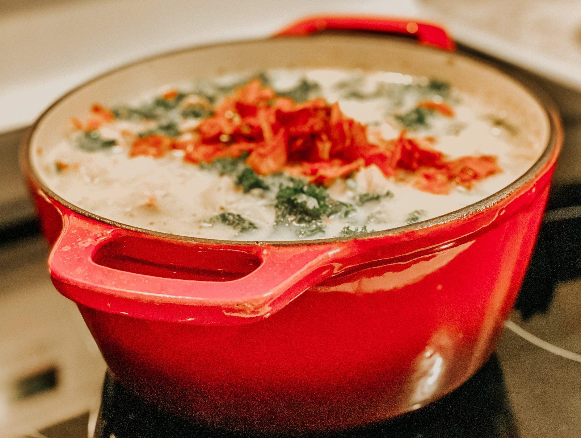 Kale, Bacon, and Potato Soup