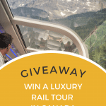Giveaway - Rocky Mountaineer Rail Tour