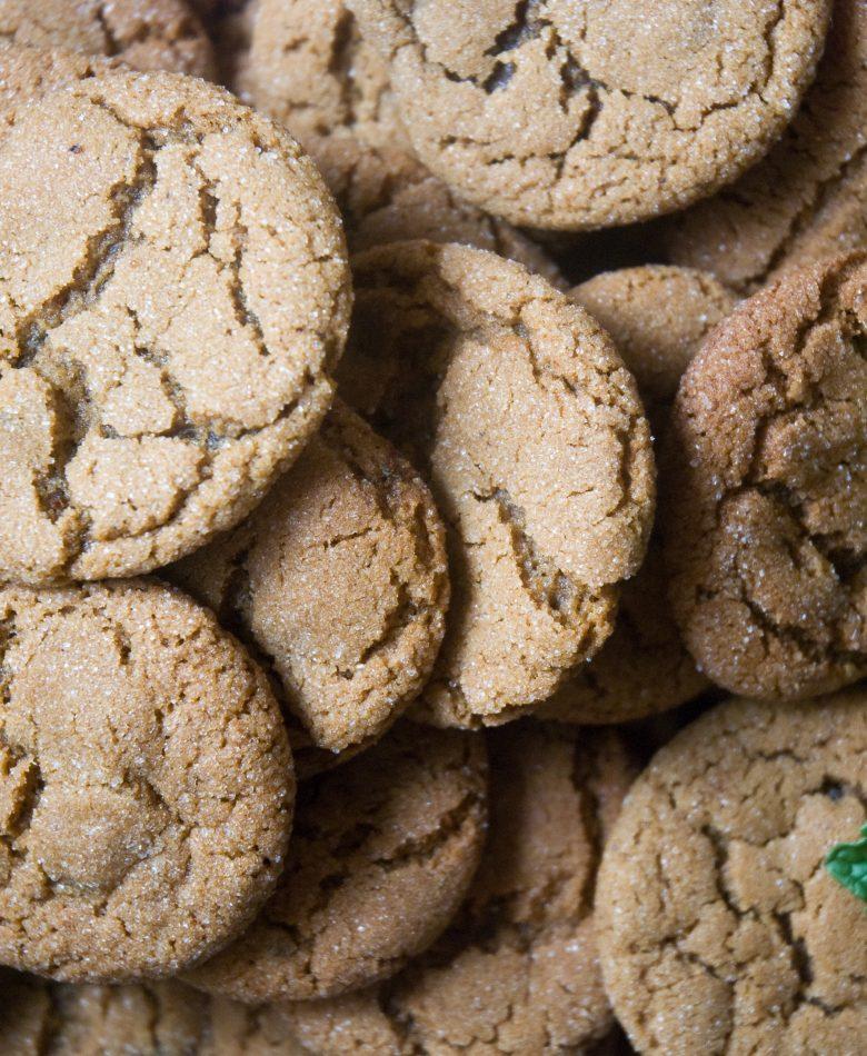 Grannie's Gingersnap Cookies