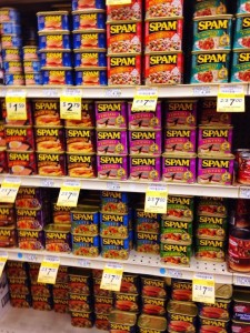 """The """"Wall of Spam"""""""