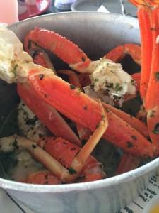Bubba Gump's crab pot